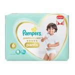 36 Couches Pampers Premium Care Pants taille 6
