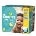 152 Couches Pampers Baby Dry taille 3