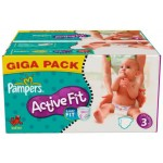 612 Couches Pampers Active Fit taille 3