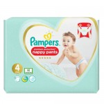 76 Couches Pampers Premium Protection Pants taille 4
